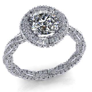 1 ct os gyémánt gyűrű Gaio