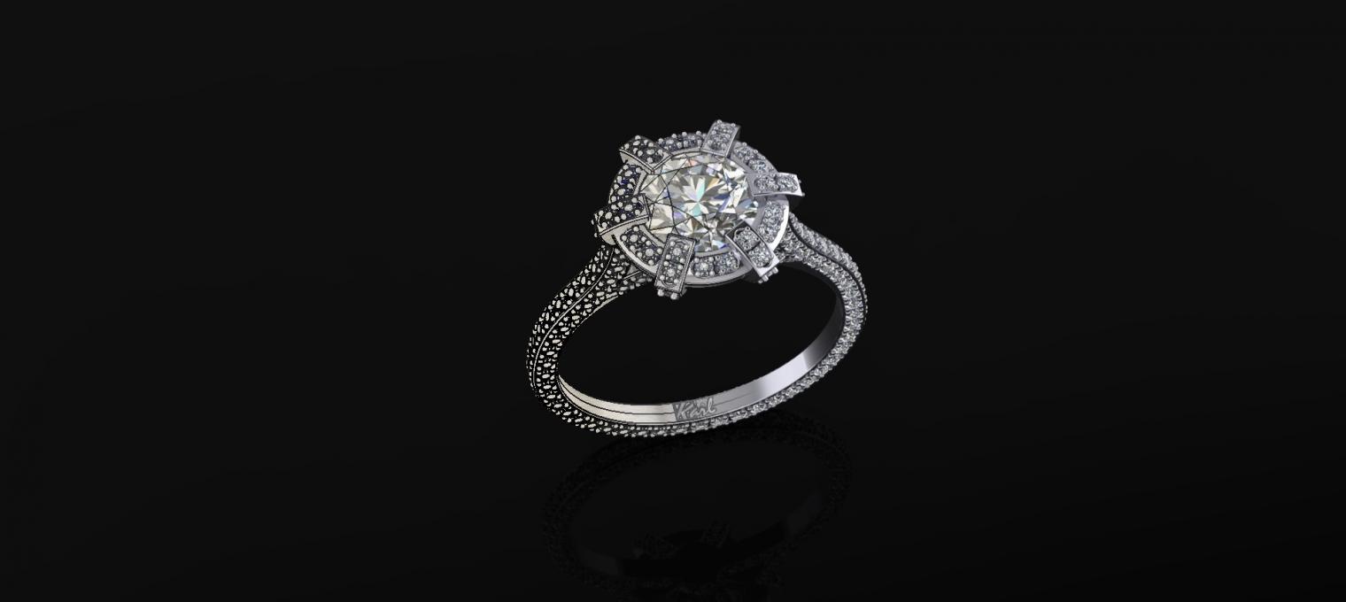Egyedi gyémánt gyűrűk